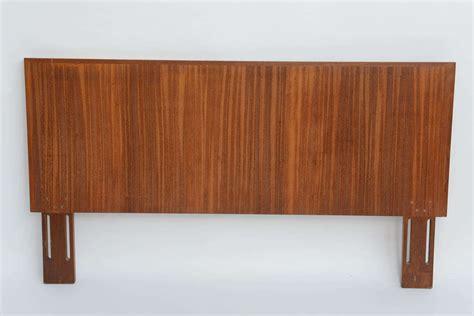 1960s Danish Figured Teak Molded Edge Headboard At 1stdibs
