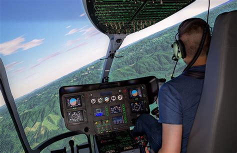 Airbus EC135 Simulator - Frasca Flight Simulation