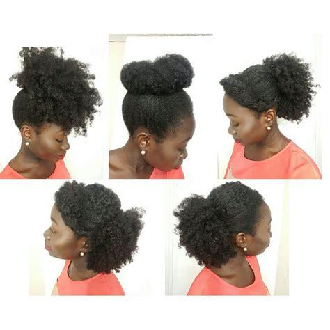 simple natural hair styles medium length  roots