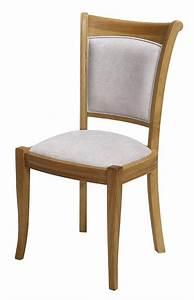 Chaise Chene Clair : chaise benjamin en ch ne massif de style louis philippe tissu gris clair meuble en ch ne massif ~ Teatrodelosmanantiales.com Idées de Décoration