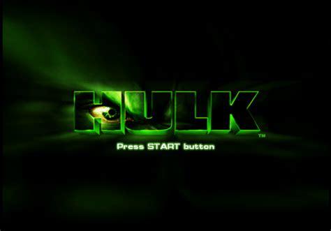 Hulk Screenshots For Playstation 2