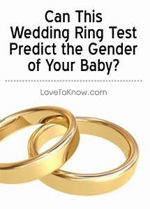 159 best pregnancy and babies images on pinterest With wedding ring pregnancy gender test