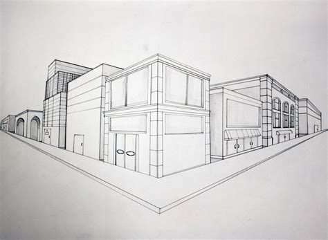 Annotated Perspective Drawings
