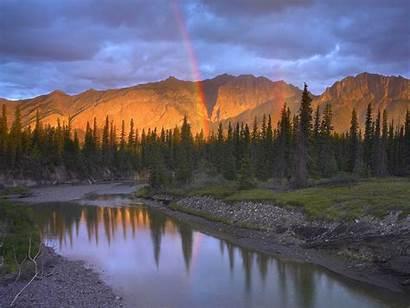 Canada Landscapes Alberta Creek Range Wallpapers Countries