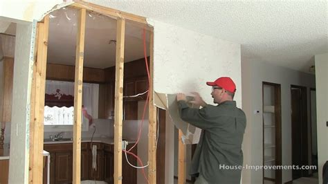 remove drywall   wall youtube