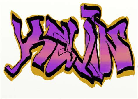 Graffiti Kevin : Ecriture Calligraphie