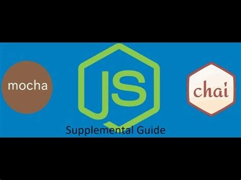 test a node restful api with mocha and test a node restful api with mocha and chai supplimental