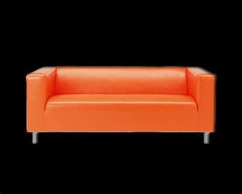 canapé klippan ikea canapé 39 klippan 39 d 39 ikea orange klippan