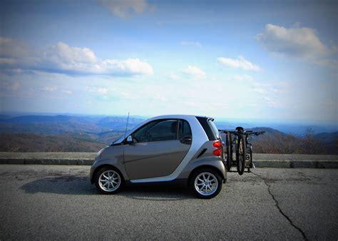 smart car bicycle rack  cycles