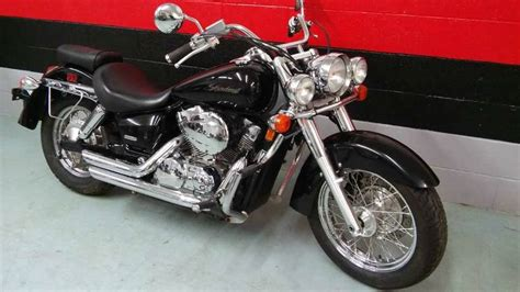 honda shadow aero  vt motorcycle