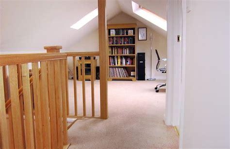 open plan study landing area   dormer bungalow loft conversion loft conversion loft