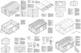 free shed building plans 12x24 images