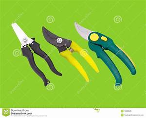 Ciseaux De Jardin : ciseaux de jardin image stock image du vert objet m tal ~ Edinachiropracticcenter.com Idées de Décoration