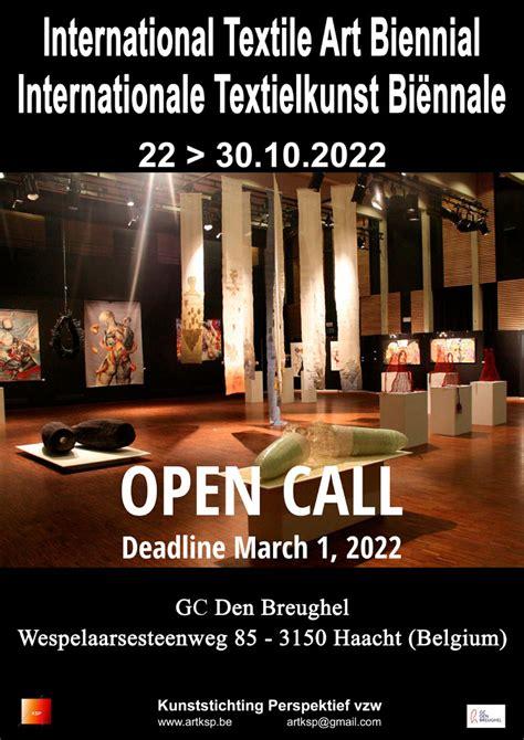 Piesakies starptautiskai tekstilmākslas biennālei Beļģijā ...