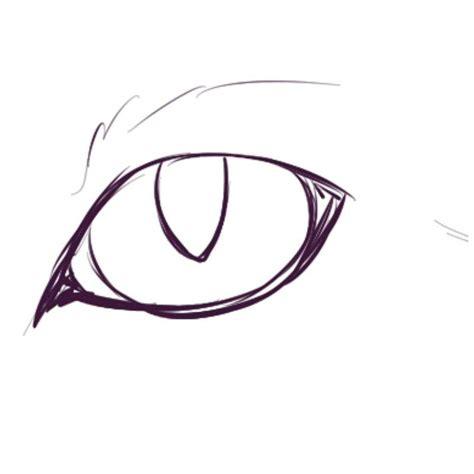 digital cat eye tutorial warriors amino