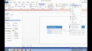 Visio Tutorial For Creating Erd Or Class Diagram