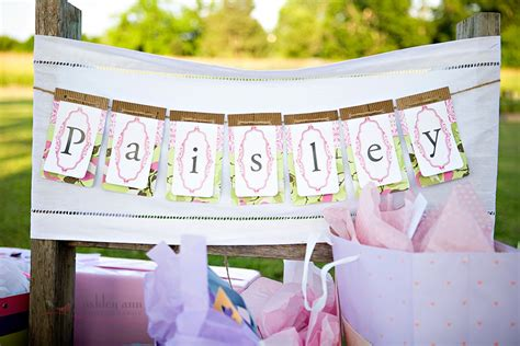 a backyard baby shower the sweetest occasion