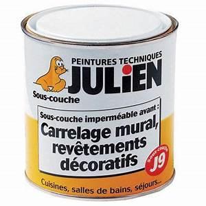 sous couche j7 carrelage verre julien 2l5 castorama With sous couche peinture carrelage