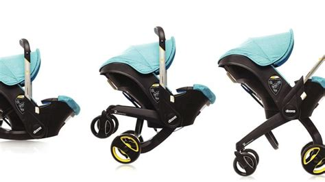 car seat  retractable stroller wheels frees  trunk