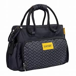 Sac Bébé Fille : sac langer imprim avec accessoires 39 badabulle 39 b b fille noir kiabi 35 00 ~ Teatrodelosmanantiales.com Idées de Décoration