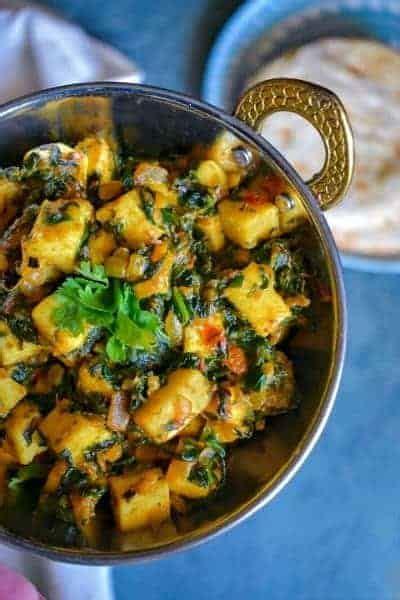 masala palak paneer sauteed spinach  cheese