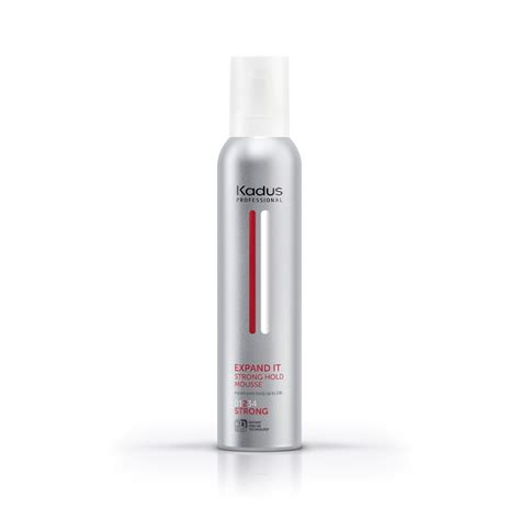 Kadus Expand It Strong Hold Mousse 250ml | Salon Supplies