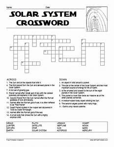 Solar System Crossword - Free Printable - AllFreePrintable.com