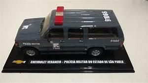 Miniatura Veraneio Rota Custom Viatura Chevrolet