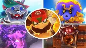 Super Mario Odyssey All Bosses No Damage YouTube