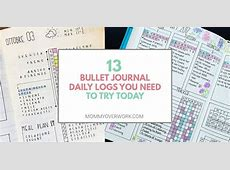 13 Bullet Journal Daily Logs to REGAIN YOUR HOURS