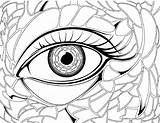 Coloring Pages Eye Anime Eyes Angry Drawing Realistic Eyeball Preschool Hair Colouring Transparent London Getdrawings Crayola Getcolorings Printable Pag Clipartmag sketch template