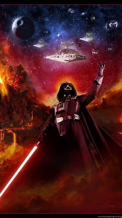 Wars Vader Wallpapers Darth Smartphone