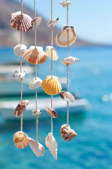 hanging shells decoration pin by eurojet d o o on leto 2017 shell decorations