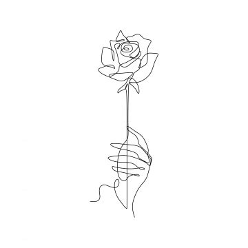 flower sketch png images vector psd files pngtree