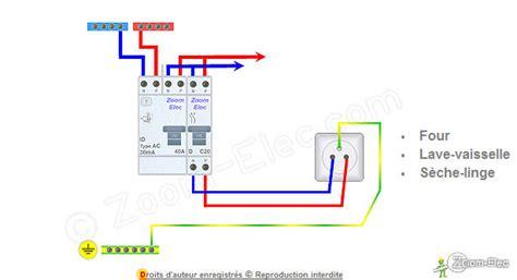 schmas de circuits lectriques spcialiss installation de l alimentation d un four lave