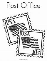 Coloring Stamp Stamps Office Usa Printable Flag California Constitution Flags State Noodle Twisty United Kleurplaat Bureau Built Ll States Happy sketch template