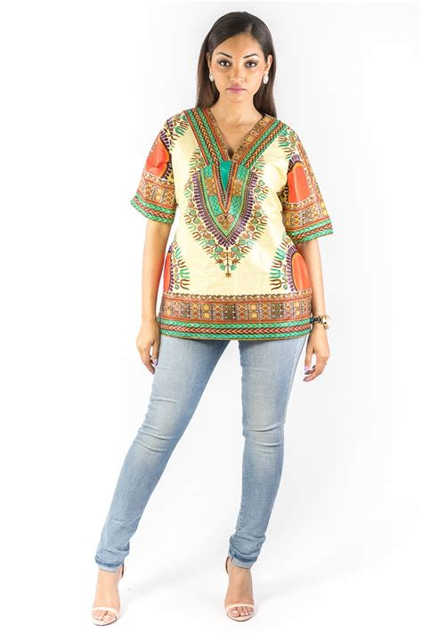Tunique Africaine Femme Tops Mode Acp