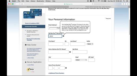 I owe on 3 of my 4 credit cards. Best buy credit card application