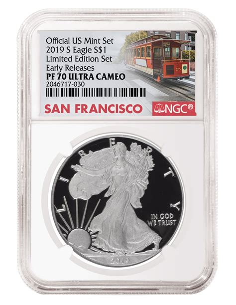 ngc labels   limited edition silver proof set