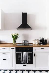 Schwarz Weiße Küche : die 25 besten k che schwarz wei ideen auf pinterest schwarz wei e k chen modernes elegantes ~ Markanthonyermac.com Haus und Dekorationen