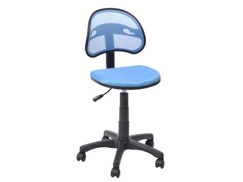 chaise de bureau bleu chaise dactylo azalie coloris bleu vente de fauteuil de