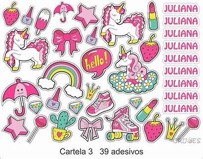 Adesivos Stickers Cartela Elo7 Roupas