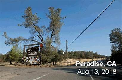 Paradise Before Fire Camp California Kqed There