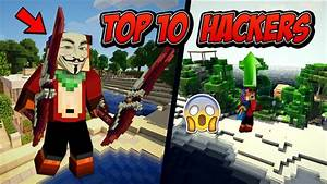 Top 10 Hackers en Cubecraft | Minecraft Skywars 1.8.9 ...