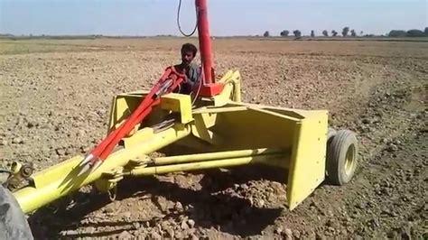 laser land leveling  pakistanmade  pakistan youtube
