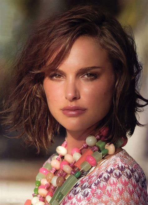 Natalie Portman's New Hairstyles  Guys Fashion Trends 2013