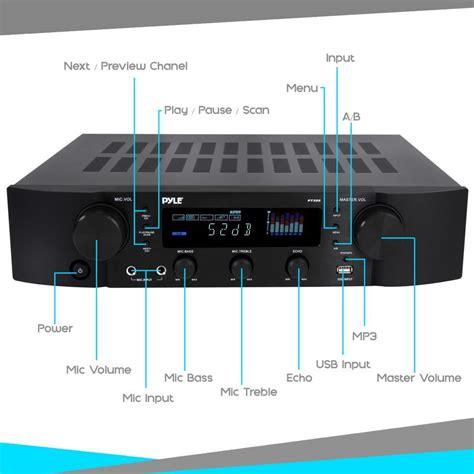 pyle pt bluetooth hybrid pre amplifier home