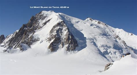 ascension du mont blanc du tacul