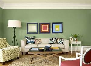 Living room ideas inspiration green living room ideas for Green paint in living room
