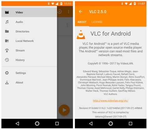 vlc 2 5 for android adds 360 degree android auto
